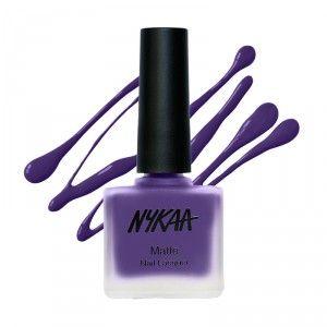 Buy Nykaa Matte Nail Enamel Collection - Nykaa