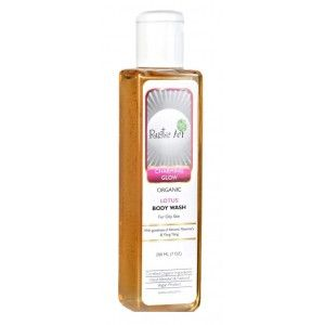 Buy Rustic Art Organic Lotus Body wash - Nykaa