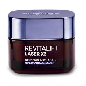 Buy L'Oreal Paris Revitalift Laser X3 Night Cream Mask - Nykaa