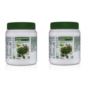 Buy Amway Nutrilite All Plant Protein 500 g - Set of 2 - Nykaa