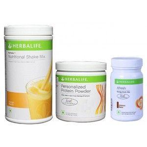 Buy Herbalife Weight Loss Combo - Mango Protein Powder & Afresh Cinnamon - Nykaa