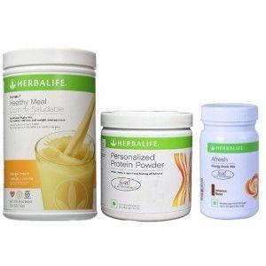 Buy Herbalife Weight Loss Combo - Orange Cream, Protein Powder & Afresh Cinnamon  - Nykaa