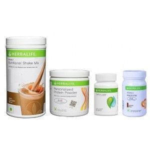 Buy Herbalife Weight Loss Pack- Dutch Chocolate, Cell-U-Loss, Protein Powder & Cinnamon - Nykaa
