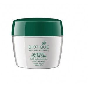 Buy Biotique Bio Saffron Dew Visibly Ageless Moisturizer - Nykaa