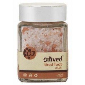 Buy Omved Tired Foot Soak - Nykaa