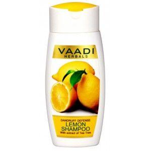 Buy Vaadi Herbals Dandruff Defense Lemon Shampoo With Extract Of Tea Tree - Nykaa