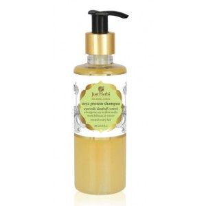 Buy Just Herbs Dandruff Control Ayurvedic Soya Protein Shampoo - Nykaa