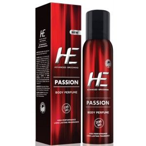 Buy HE Body Perfume - Passion - Nykaa