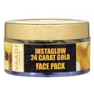 Buy Vaadi Herbals 24 Carat Gold Face Pack - Vitamin-E & Lemon Peel - Nykaa