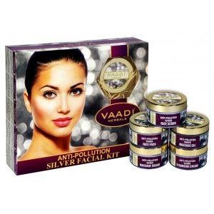 Buy Vaadi Herbals Anti-Pollution Silver Facial Kit  - Nykaa