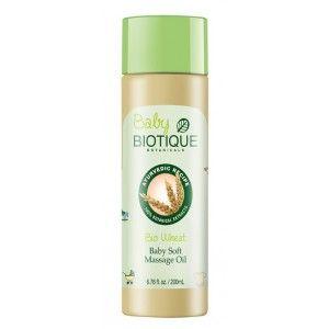 Buy Biotique Bio Wheat Germ Baby Soft Massage Oil  - Nykaa