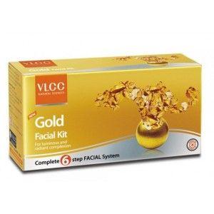 Buy VLCC New Gold Facial Kit - Nykaa