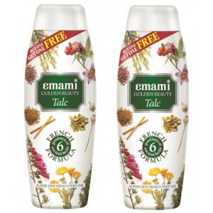 Buy Emami Golden Beauty Alpine Dew Talc (Buy 1 Get 1 Free) - Nykaa