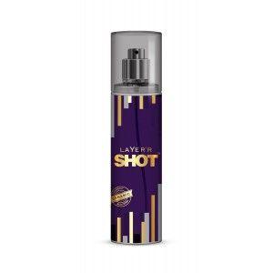 Buy Layer'r Shot Gold Dynamic Body Spray - Nykaa