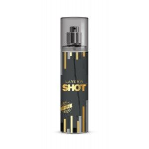 Buy Layer'r Shot Gold Iconic Body Spray - Nykaa