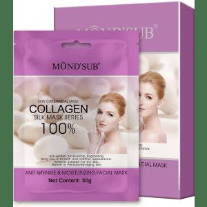 Buy Mond'Sub Anti-Wrinkle & Moisturizing Facial Mask (Pack of 8) - Nykaa
