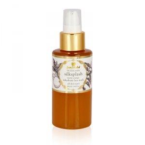 Buy Just Herbs Silksplash Neem-Orange Rehydrant Face Wash - Nykaa