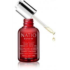 Buy Natio Renew Silky Shea Miracle Face Oil - Nykaa