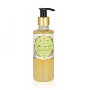 Buy Just Herbs Silky Strength Aloevera-Wheatgerm Moisturising Shampoo - Nykaa