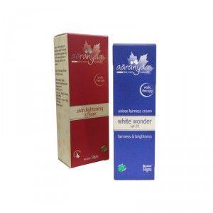Buy Aaranyaa Skin Lightening Cream + Free Aaranyaa Unisex Fairness Cream White Wonder Spf-20 - Nykaa
