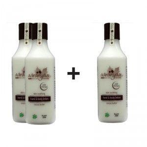 Buy Aaranyaa Skin Soothing Hand & Body Lotion - Cocoa Butter (Buy 2 Get 1 Free) - Nykaa