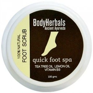 Buy BodyHerbals Foot Scrub - 1 minute pedicure - Nykaa