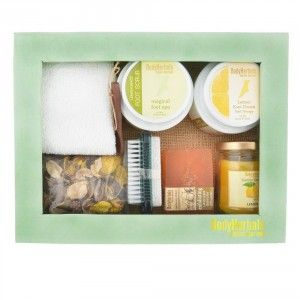 Buy BodyHerbals Lemongrass Foot Spa Set - Nykaa