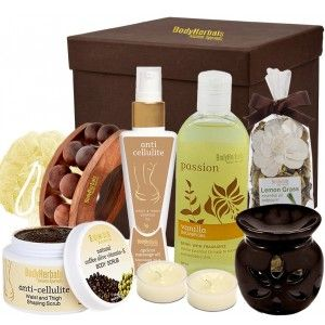 Buy BodyHerbals Anti Cellulite Coffee Spa Gift Hamper - Nykaa