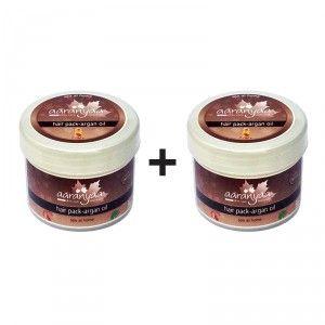 Buy Aaranyaa Hair Pack - Argan Oil (Buy 1 Get 1 Free) - Nykaa
