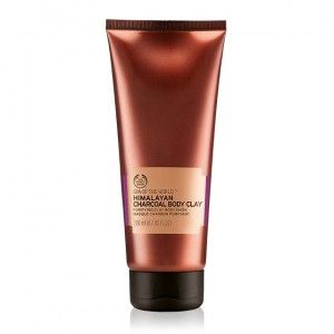 Buy The Body Shop Spa Of The World Himalayan Charcoal Body Clay - Nykaa
