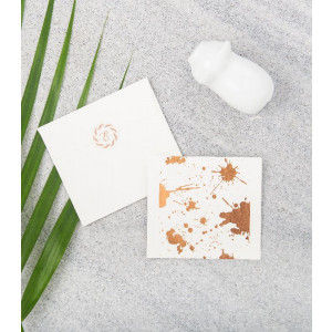 Buy Design Pataki Splatter Gift Notecards - Copper  - Nykaa