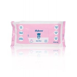 Buy Softsens Premium Baby 20 Wipes - Nykaa