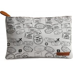 Buy DailyObjects Stamps Carry-All Pouch Medium - Nykaa