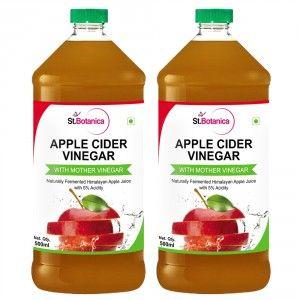 Buy St.Botanica Apple Cider Vinegar - 500ml x 2 - Nykaa
