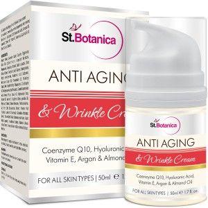 Buy St.Botanica Anti Aging & Anti Wrinkle Cream - Nykaa
