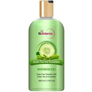 Buy St.Botanica Green Tea and Cucumber Luxury Shower Gel - Nykaa