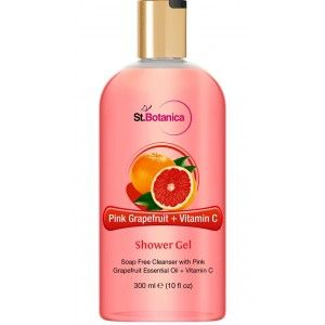 Buy St.Botanica Pink Grapefruit & Vitamin C Luxury Shower Gel - Nykaa
