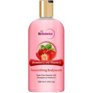 Buy St.Botanica Strawberry & Vitamin E Nourishing Luxury Body Wash - Nykaa