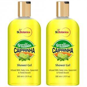 Buy St.Botanica Brazilian Caiprinha Luxury Shower Gel (Pack of 2) - Nykaa