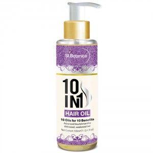 Buy St.Botanica 10 In 1 Hair Oil - Nykaa