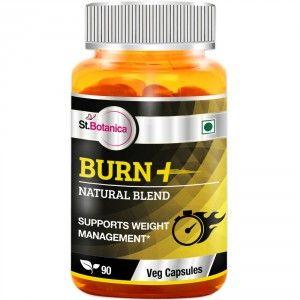 Buy St.Botanica Burn+ Weight Management - 90 Veg Capsules - Nykaa