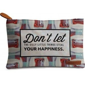 Buy DailyObjects Steal Your Happiness Carry-All Pouch Medium - Nykaa
