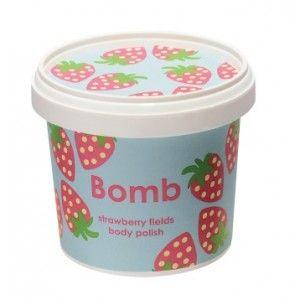 Buy Bomb Cosmetics Strawberry Fields Shower Polish - Nykaa