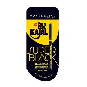 Buy Maybelline New York Colossal Kajal Super Black - Nykaa
