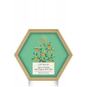 Buy Forest Essentials Luscious Lip Balm - Narangi Glaze - Nykaa