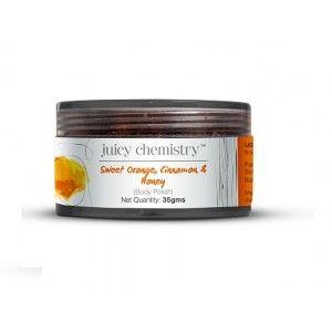 Buy Juicy Chemistry Sweet Orange, Cinnamon & Honey Body Polish - Nykaa