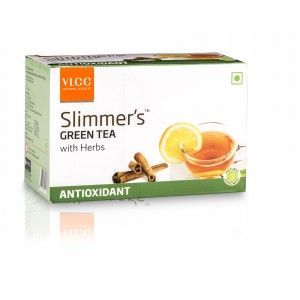 Buy VLCC Slimmers Green Tea With Herbs - Antioxidant (10 Packs) - Nykaa