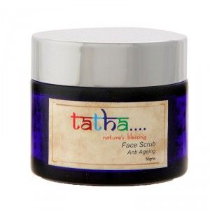 Buy Tatha Nature's Blessing Face Scrub - Anti Ageing - Nykaa