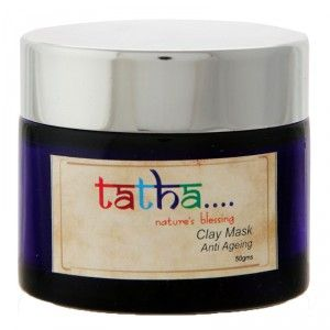 Buy Tatha Nature's Blessing Clay Mask - Anti Ageing - Nykaa