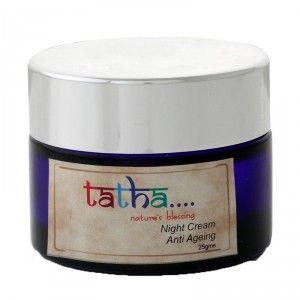 Buy Tatha Nature's Blessing Night Cream - Anti Ageing - Nykaa